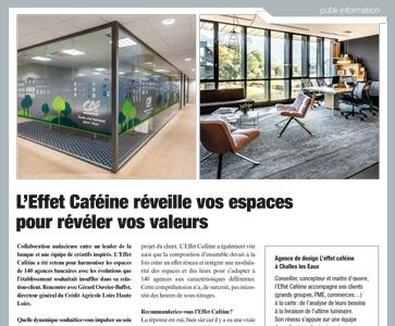 L'Effet Caféine réveille vos espaces pour révéler vos valeurs
